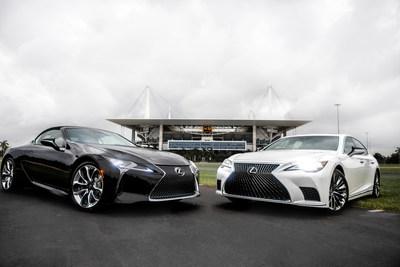 Lexus será el vehículo oficial de lujo de los Miami Dolphins y del Hard Rock Stadium