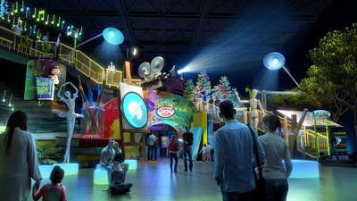 Curiosity Playground™ venues will feature iconic children's television preschool properties in fun, interactive environments that seamlessly integrate media with hands-on exploration for the whole family.
