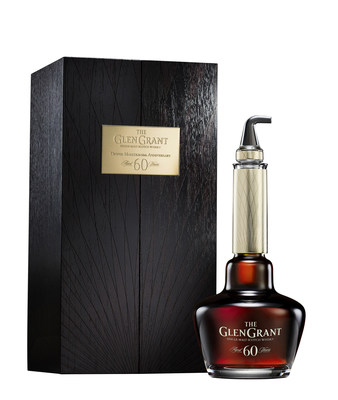 The Glen Grant Dennis Malcolm 60th Anniversary Edition Aged 60 Years is priced at € 25,000.00 and will be available in select retailers in global markets beginning in October, 2021